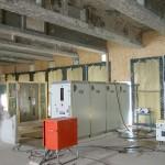 Materialschleuse, 4-Kammer-Personalschleuse mit Wassermanagement